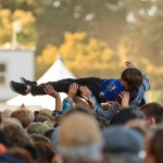 Crowd surfer @ OSL '11 by John Margaretten