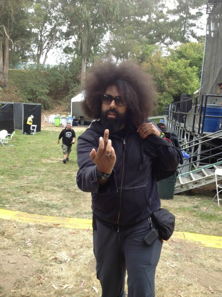 Reggie Watts by Dennis Cook